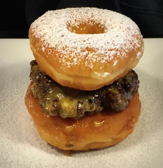 instant karma donut burger