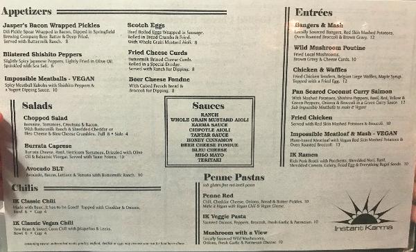 instant karma menu 1