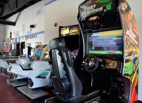 Lazer arcade