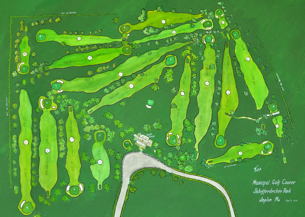 Schiff golf map