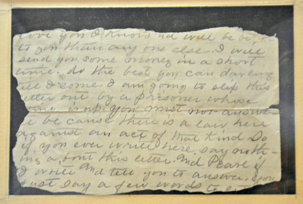 civil war museum belle letter