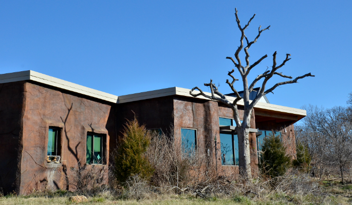christmas bird count center facade