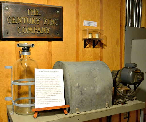 baxter museum lung machine