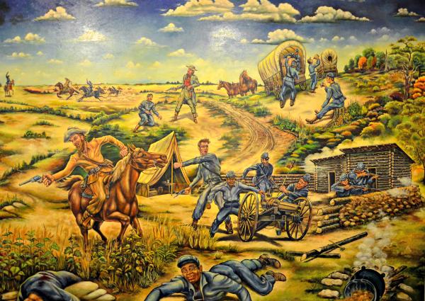 baxter museum mural