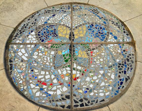 cunningham butterfly mosaic