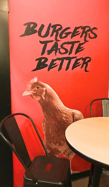 social btb chicken
