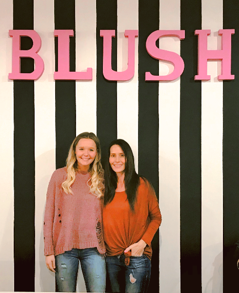 blush bailey and julie